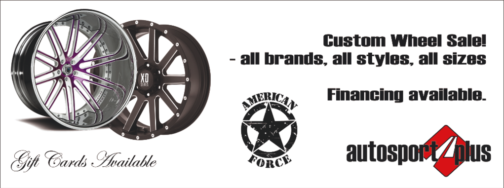 custom wheels and tires in Canton Akron Ohio