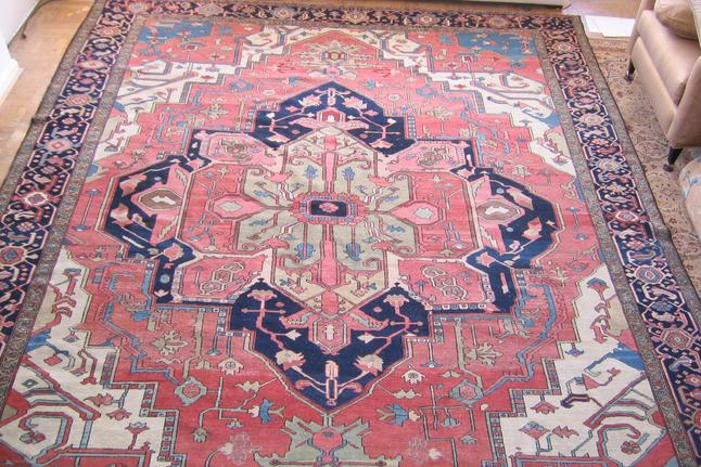 Antique Heriz Serapi Rugs Buy Sell Appraise
