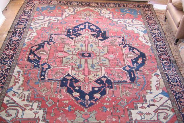 Antique Heriz Serapi Rugs Buy Sell Appraise