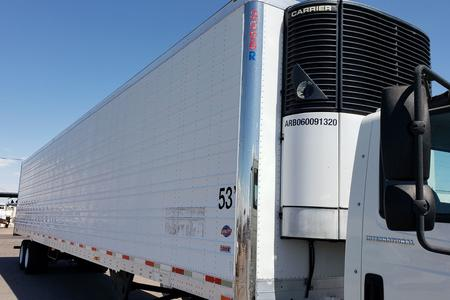 2007 UTILITY TRAILER WITH CARRIER REEFER UNIT