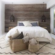 Reclaimed bedroom wood wall Long Beach