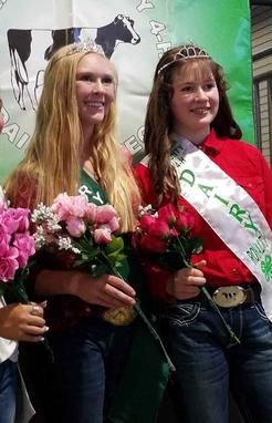 larimer county 4-H dairy royalty