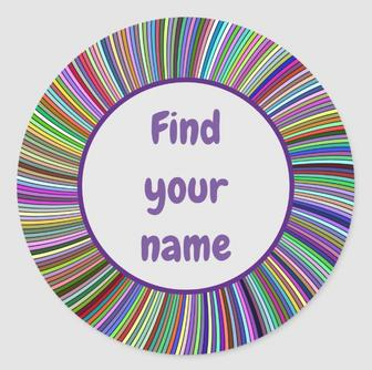 Find your name