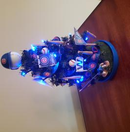 Chicago Cubs Lighted Tree-$32.95