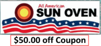 Sun oven $50 off coupon