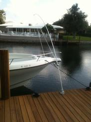 Boat Dock Accessories: Mooring Whips.