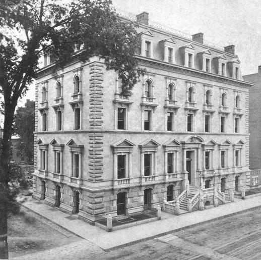 The Boston and Albany Railroad office, ca. 1865?-1885.