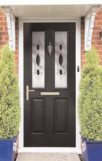 GRP composite front door