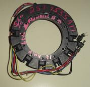 Used stator for a Mercury outboard motor 16 amp 6 cylinder engine.