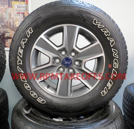 Ford F150 FX4 Takeoff wheels and tires