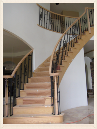 Metal Railings Staircase