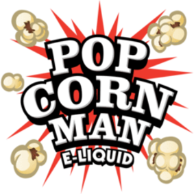 Popcorn Man eliquid available at The Ecig Flavourium Toronto vape shop