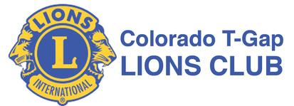 Colorado T-Gap Lions Club