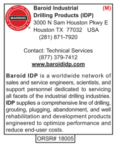 Drilling Products, Baroid