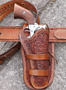 Leather Gun Holster