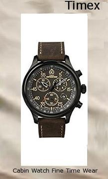Timex Men's T49905 Expedition Rugged Field Chronograph Black/Brown Leather Strap Watch,timex digital watch