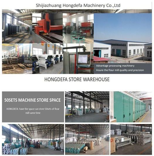 Hongdefa machinery factory for maize wheat flour milling machine