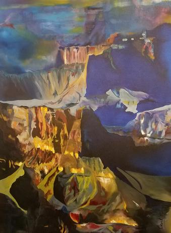Natural Accents Gallery of Taos - Featuring the Exceptional Paintings of Artist Carl King