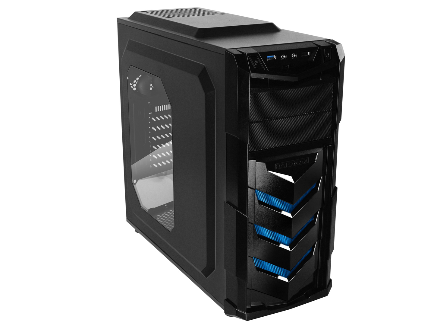 torre gamer cpu pc nuevo amd twelve threads r5 1600 rx 460 4gb gddr5 memoria ram 8gb ddr4 blindada board msi b350 disco duro 2tb 2000gb juegos gamer chasis case atx