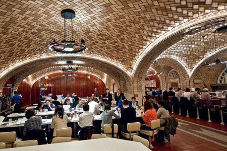 The Grand Central Oyster Bar and Restaurant opened along with the terminal itself in 1913.