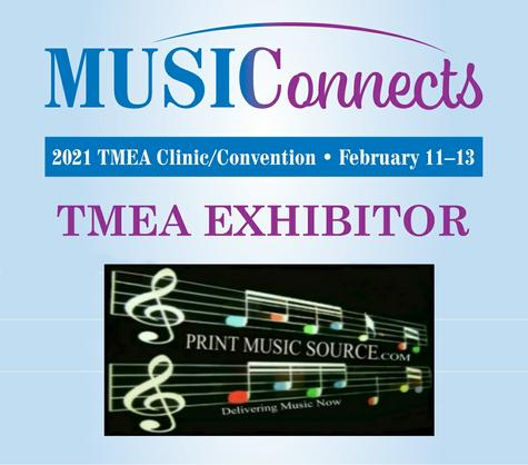 Print Music Source TMEA Virtual Booth