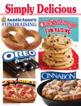 Simply Delicious Otis Spunkmeyer Fundraiser
