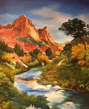 Natural Accents Gallery of Taos, Featuring Artist Neo Fernandez - Oils