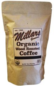 Millars wood roasted organic coffee