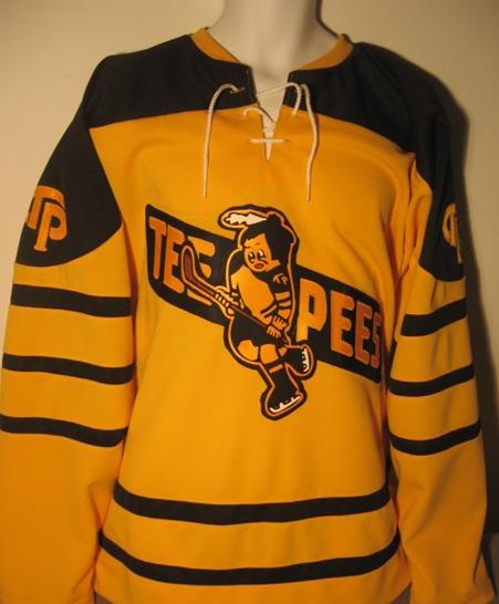 St Catharines Teepees Hockey Jersey - Vintage Hockey Jerseys 95d378e678c
