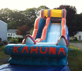 big kahuna water slide for rental