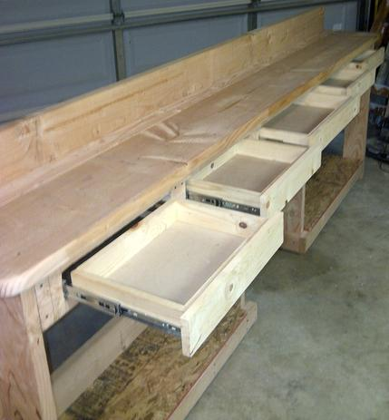 Add   Tall X Any Wide X Any Deep Drawers To Any Workbench  Each