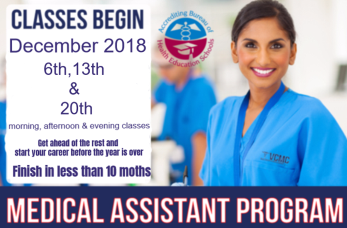 Start your medical assisting career today