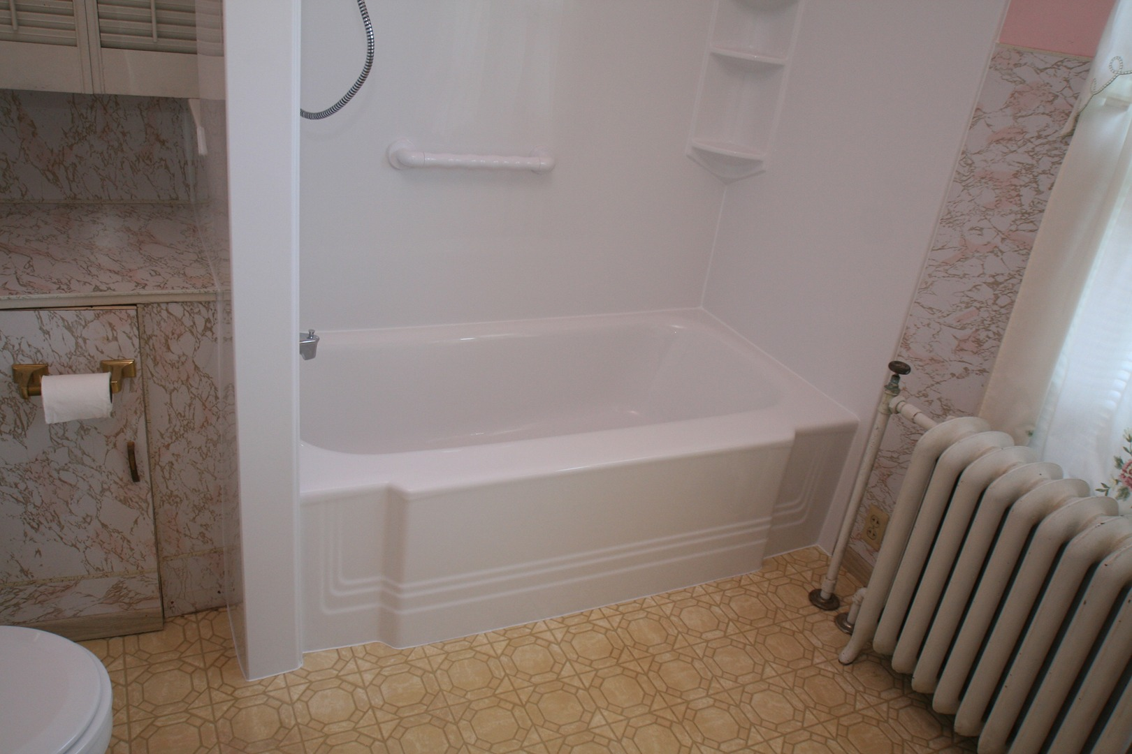 Acrylic Bathtub Wall And Shower Liners Walkthru Tub Inserts - Bathroom tub inserts