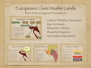 Europeans Claim Muslim Lands Presentation