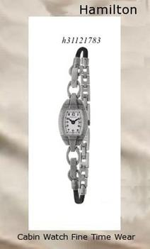 Watch Information Brand, Seller, or Collection Name Hamilton Part Number H31121783 Item Shape Tonneau Dial window material type Anti reflective sapphire Clasp Jewelry Clasp Case material Stainless steel Case diameter 14 millimeters Case Thickness 5 millimeters Band Material Stainless steel Band length 8 inches Band width 6 millimeters Band Color Silver Dial color Silver Bezel material Stainless steel Movement Swiss quartz Water resistant depth 30 Meters,hamilton watch