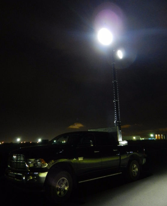 Light Tower Sales: Truck Mounted Led Light Towers, Trucktowers