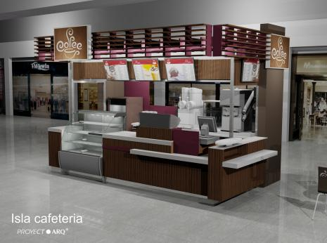 Kioscos e islas para centros comerciales plazas - Muebles para centros comerciales ...