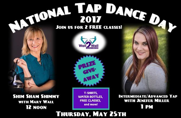National Tap Dance Day 2017