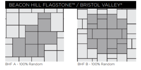 Beacon Hill Flagstone Paver Patterns