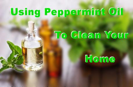 peppermint oil house cleaning