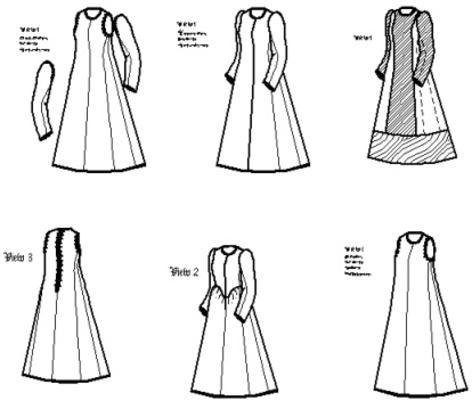 1500-1630 Round Kirtle Pattern