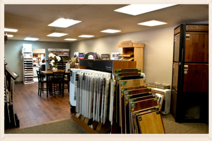 Dawson's Floor Fashions showroom