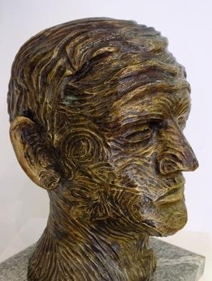 Raymond Watson - sculpture of John Luke
