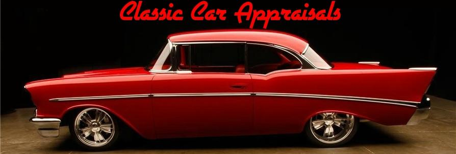 Mad Muscle Garage's Classic Car Appraisal Banner and Link to Facebook