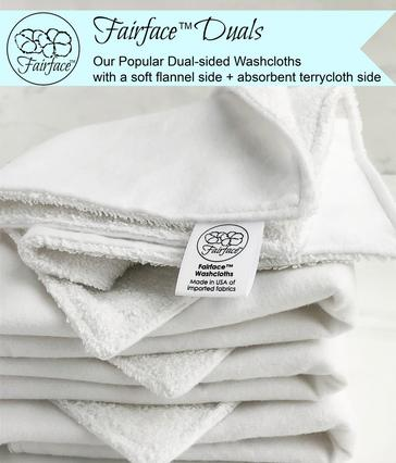 sensitive skin care Fairface Washcloths Originals