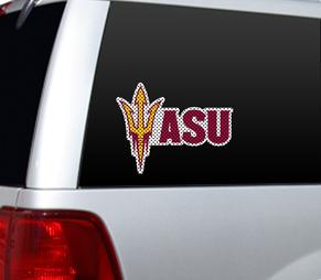 Arizona State Sun Devils Perforated Window Film