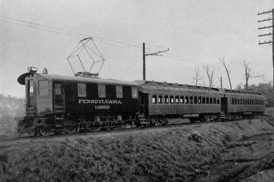 The Pennsylvania Railroad's Odd D No. 10003.