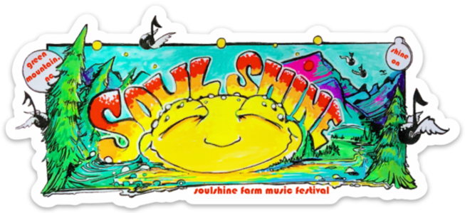 Soulshine 2018 Bumper Sticker by Bean Spence Art