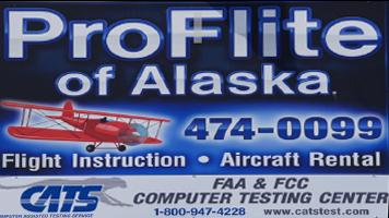 Proflite of Alaska - Flight Training Aircraft Rental, Cessna Flight