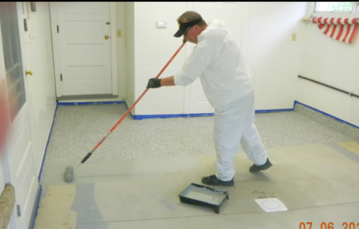Mayos kustom garage floors etc llc concrete floor coatings epoxy step by step process done right tyukafo